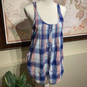 HURLEY tunic style top